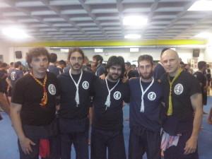 Foto con il Grand Master Marco de Cesaris 16° Khan