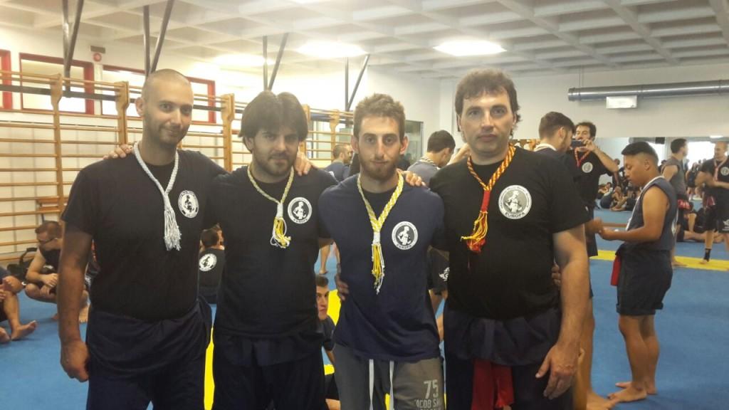 Atleti In Fieri accompagnati dall' Istruttore